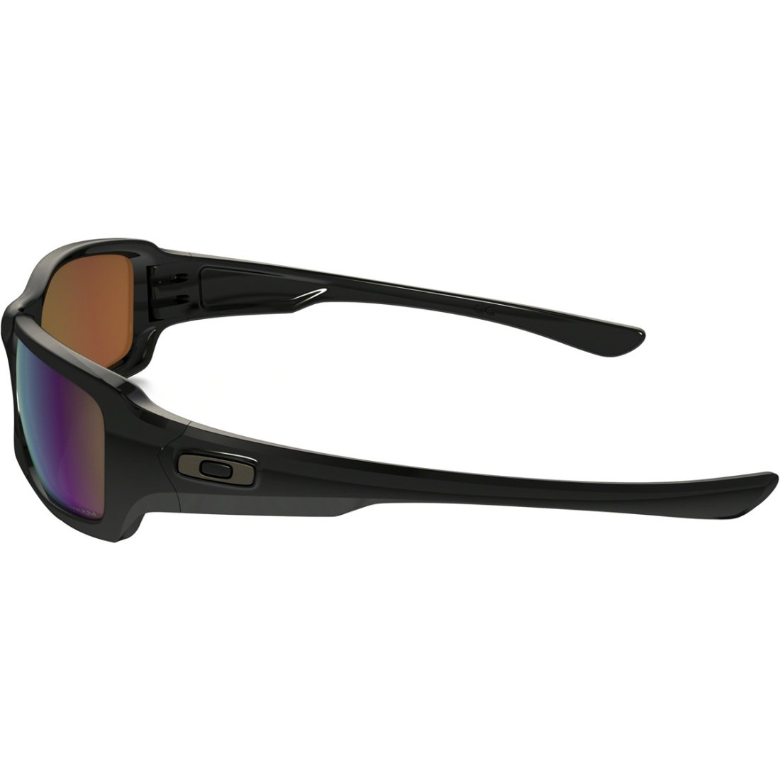 7b84eeda64 OAKLEY Fives Squared Polished Black   Prizm Shallow Water Polarized Sun  glasses
