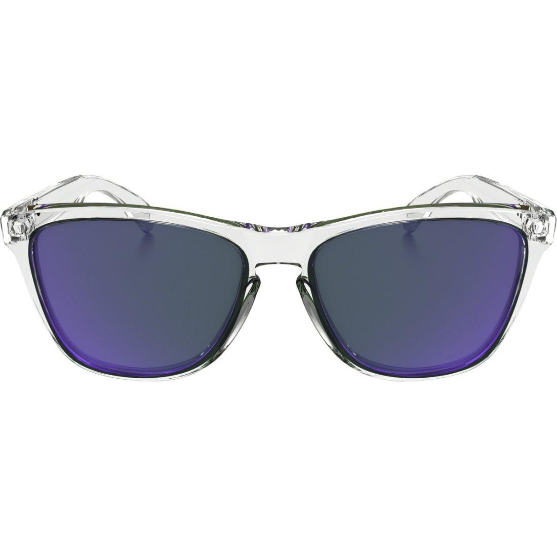 cf4f1f33639 OAKLEY Frogskins Polished Clear   Violet Iridium Mask   Goggle