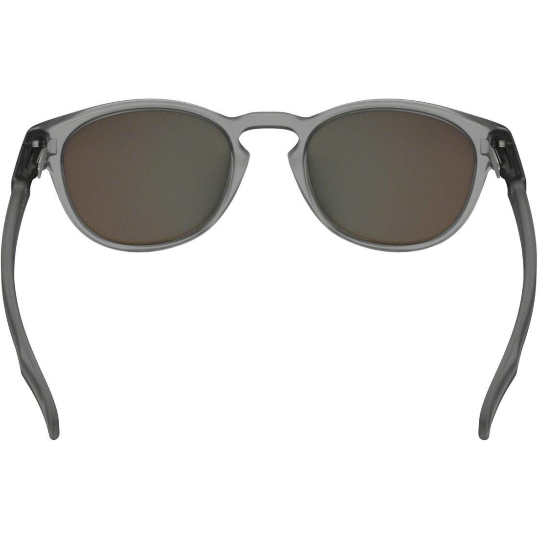 9f1d4d99fec7a Máscara   Óculos OAKLEY Latch Matte Gray Ink   Sapphire Iridium Polarized