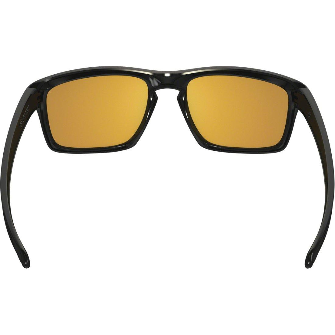 1a0a575eaaa OAKLEY Sliver Polished Black   24K Iridium Sun glasses · Motocard