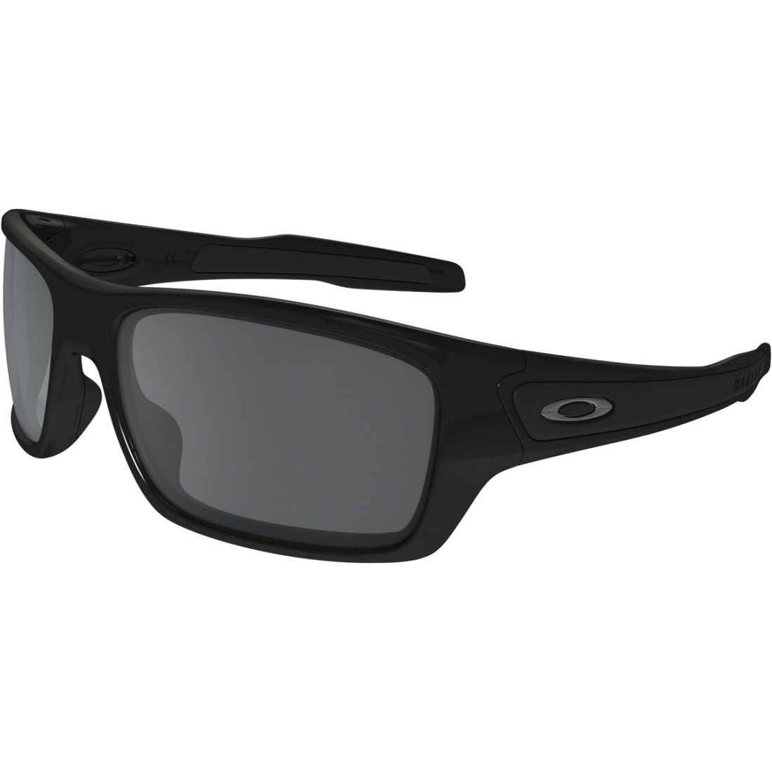 Masque Lunettes Black Turbine Iridium Polished Oakley dsQCrth