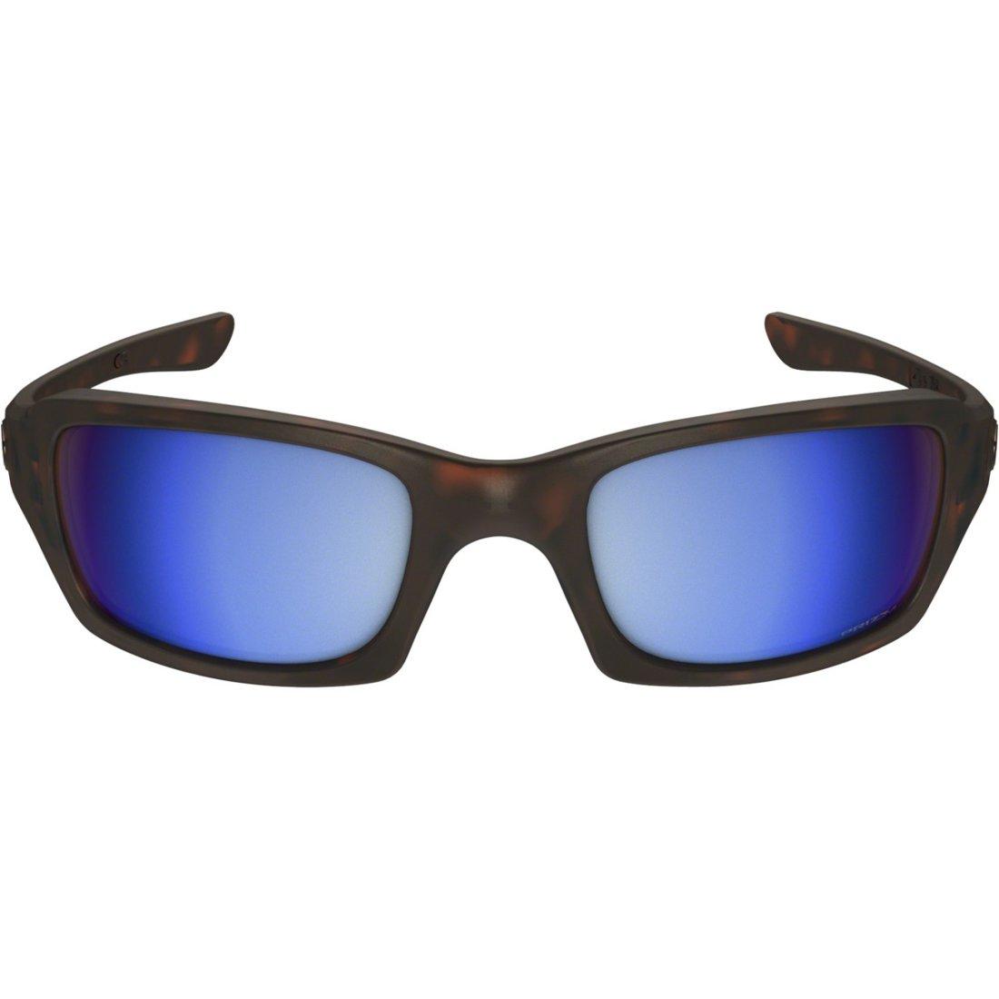 ab6221b1e7 OAKLEY Fives Squared Matte Tortoise   Prizm Deep Water Polarized Sun  glasses · Motocard