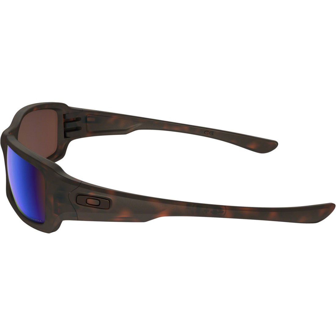 e2295bccb19 OAKLEY Fives Squared Matte Tortoise   Prizm Deep Water Polarized Sun glasses