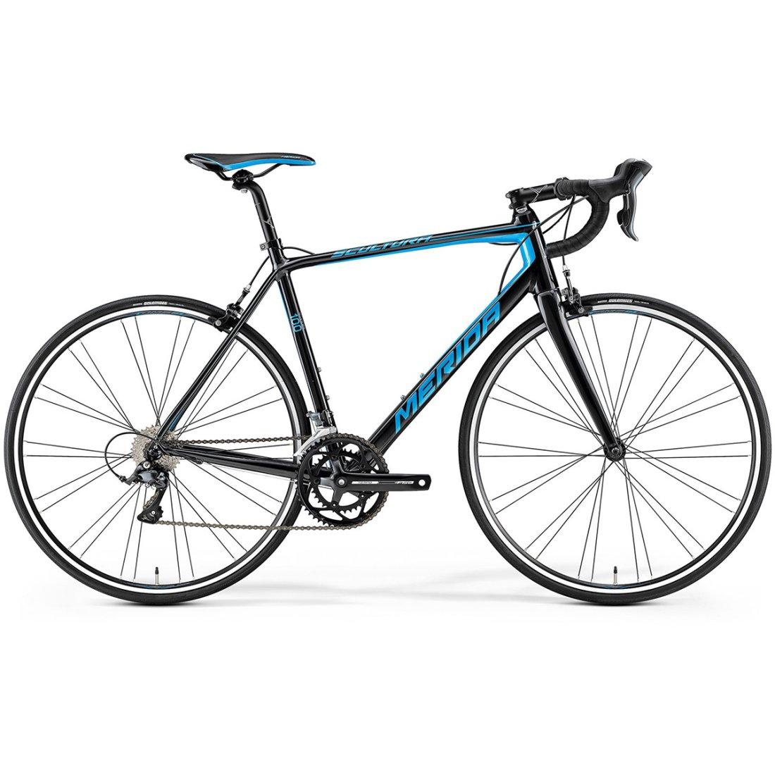 MERIDA Scultura 100 2017 Black   Blue Road bike · Motocard af86bd6e62