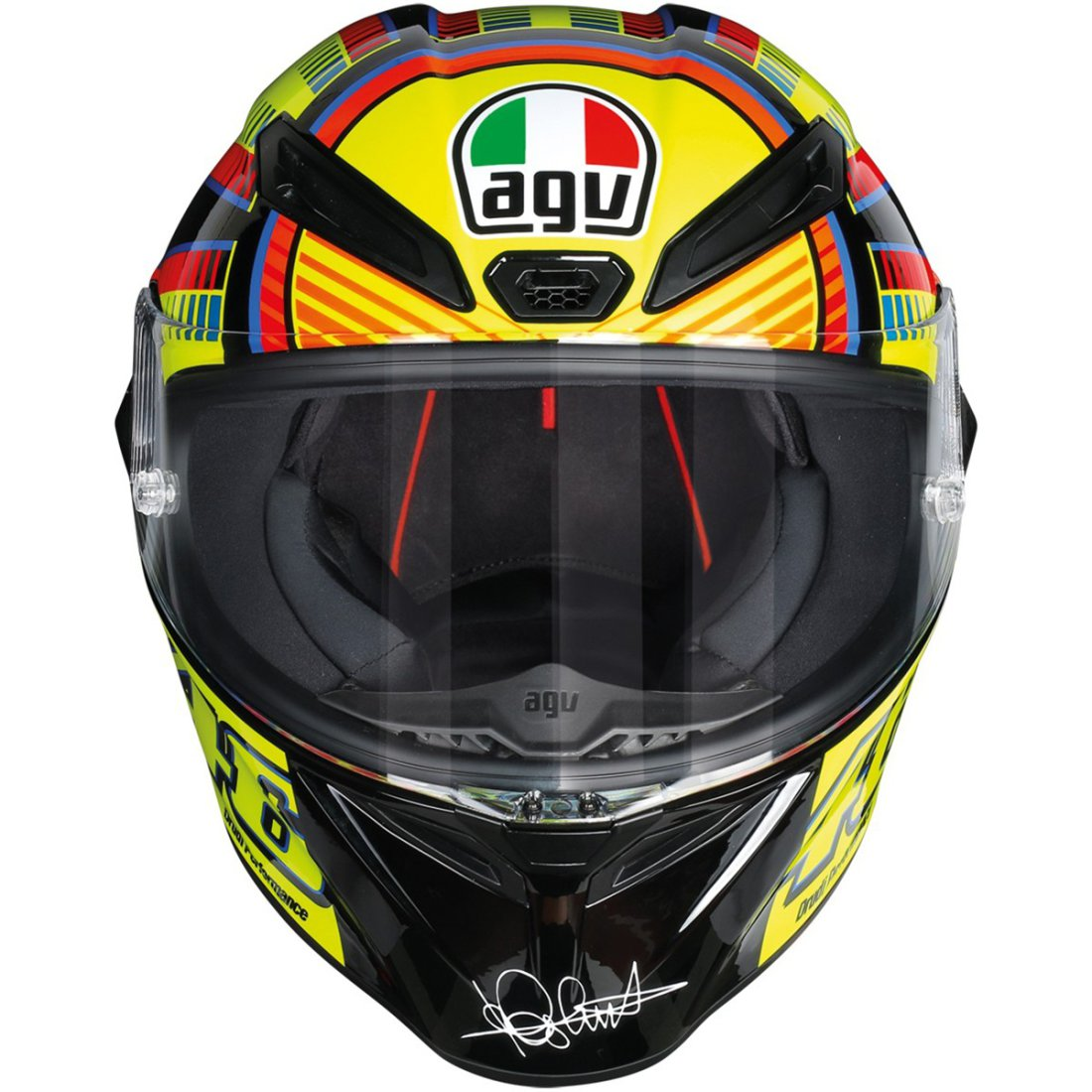 agv veloce s rossi soleluna helmet motocard. Black Bedroom Furniture Sets. Home Design Ideas