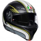 AGV Compact ST Boston Matt Black / Grey / Yellow