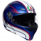 AGV Compact ST Boston Matt Blue / White / Red
