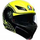 AGV Compact ST Detroit Yellow Fluo / Black