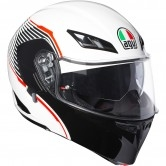 AGV Compact ST Vermont White / Black / Red
