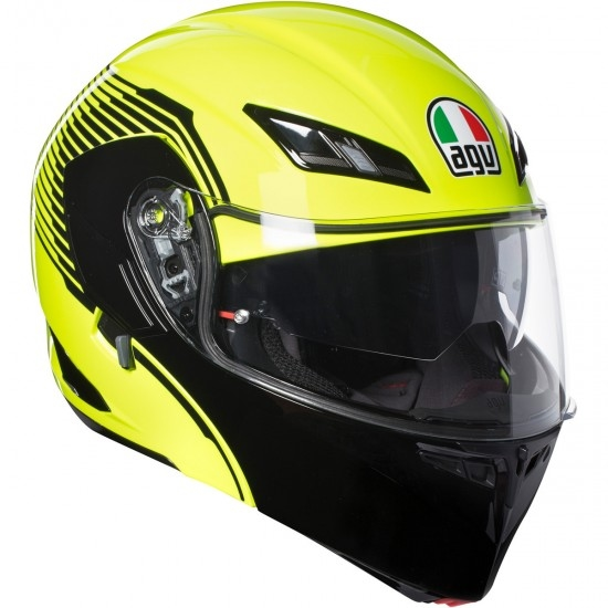 Helm AGV Compact ST Vermont Yellow Fluo / Black