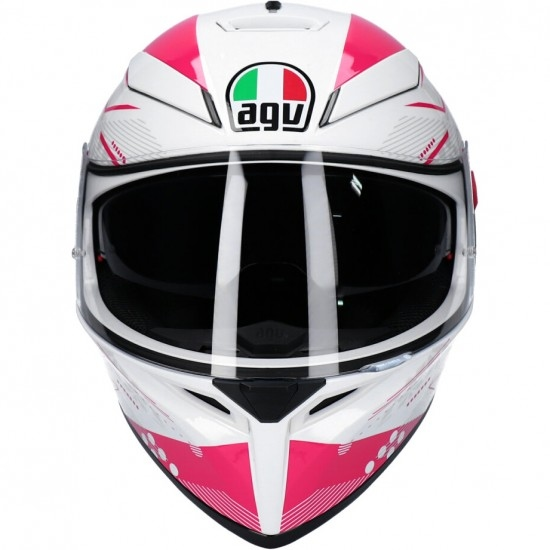 Helm AGV K-3 SV Pinlock Izumi White / Pink