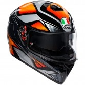 AGV K-3 SV Pinlock Liquefy Black / Orange