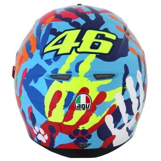 AGV K-3 SV Pinlock Rossi Misano 2014 Helmet