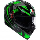 AGV K-5 S  Hurricane 2.0 Black / Green
