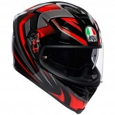 AGV K-5 S  Hurricane 2.0 Black / Red