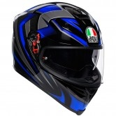 AGV K-5 S Hurricane 2.0 Black / Blue