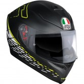 AGV K-5 S Rossi Thorn 46 Matt Black / White / Yellow