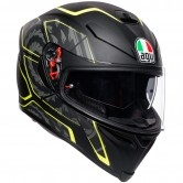 AGV K-5 S Tornado Black / Yellow Fluo