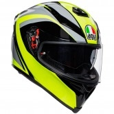 AGV K-5 S Typhoon Black / Grey / Yellow Fluo