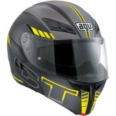 AGV Compact ST Seattle Matt Black / Silver / Yellow Fluo