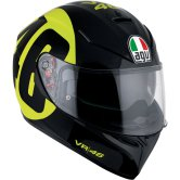 K-3 SV Pinlock Rossi Bollo 46 Black / Yellow
