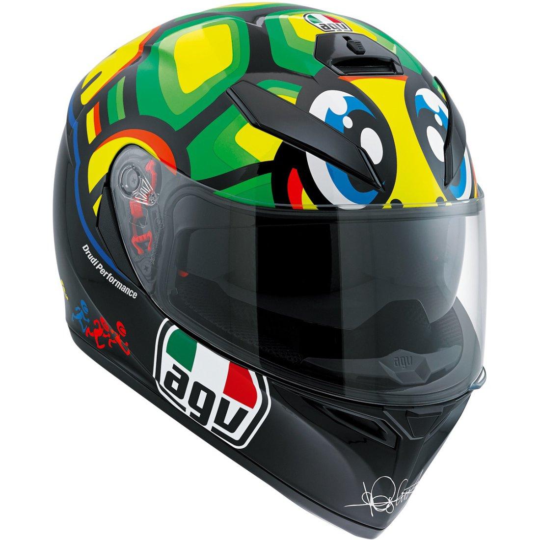 AGV K-3 SV Pinlock Rossi Tartaruga Helmet