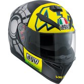 AGV K-3 SV Pinlock Rossi Winter Test 2012