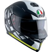 AGV K-5 S Darkstorm Matt Black / Yellow