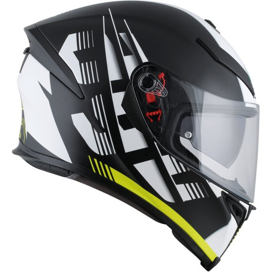 Casque AGV K-5 S Darkstorm Matt Black / Yellow