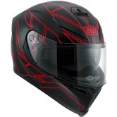 AGV K-5 S Hero Black / Red