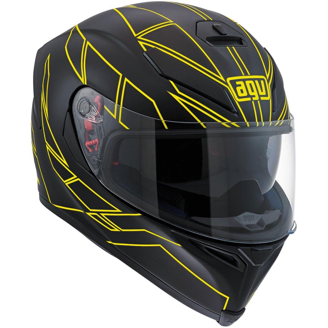 AGV K-5 S Hero Black / Yellow Fluo Helmet
