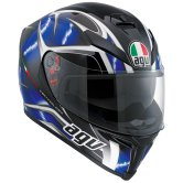 AGV K-5 S Hurricane Black / Blue / White