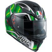 AGV K-5 S Hurricane Black / Green / White