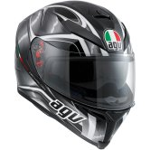 AGV K-5 S Hurricane Black / Gunmetal / White