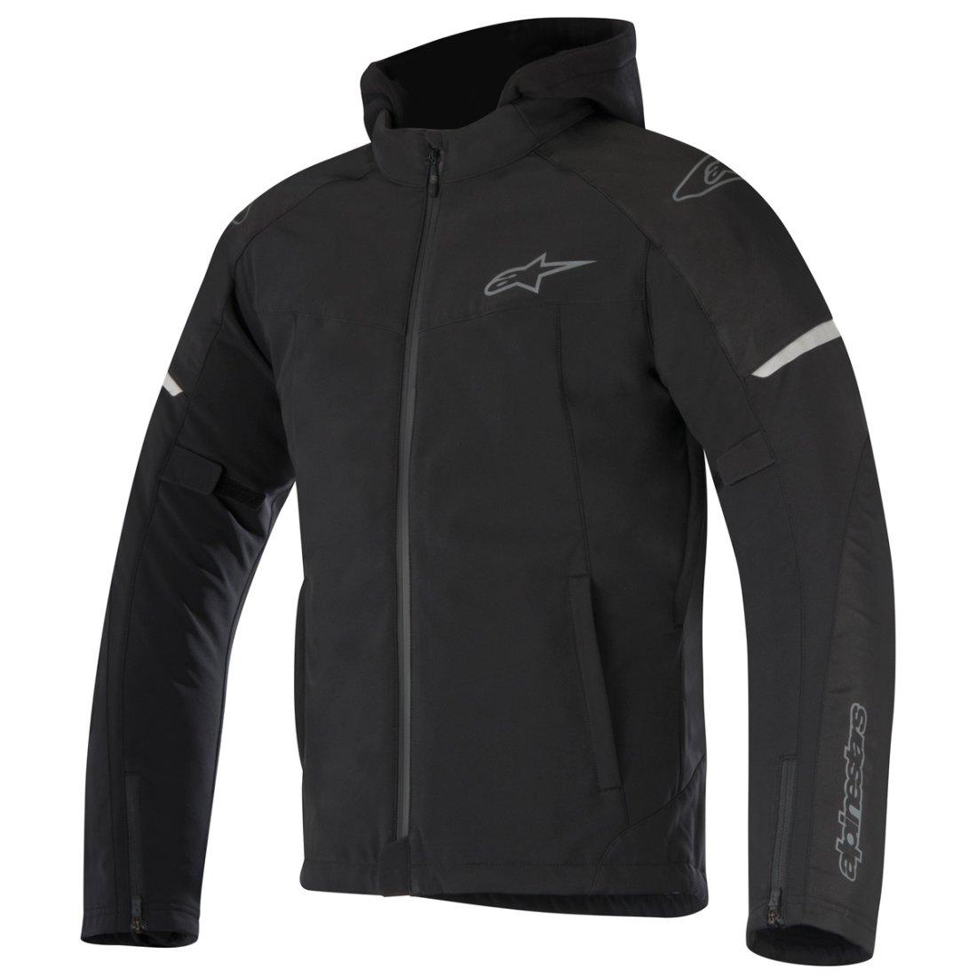 45270535 ALPINESTARS Stratos Techshell Drystar Black Jacket · Motocard
