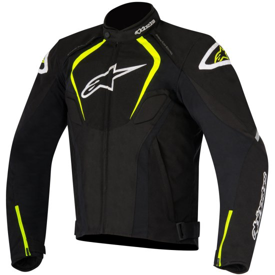 Giacca ALPINESTARS T-Jaws Waterproof Black / Yellow Fluo