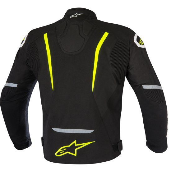 Chaqueta ALPINESTARS T-Jaws Waterproof Black / Yellow Fluo