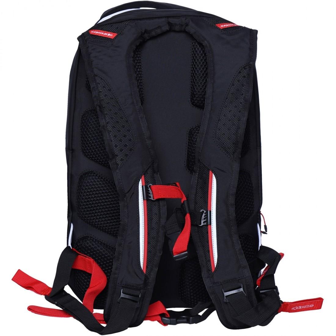 cdd312a04 ALPINESTARS City Hunter Black   White   Red Bag · Motocard