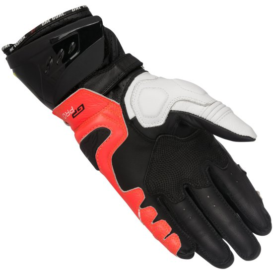 Guantes ALPINESTARS Gp Pro R2 Black / White / Red / Yellow Fluo