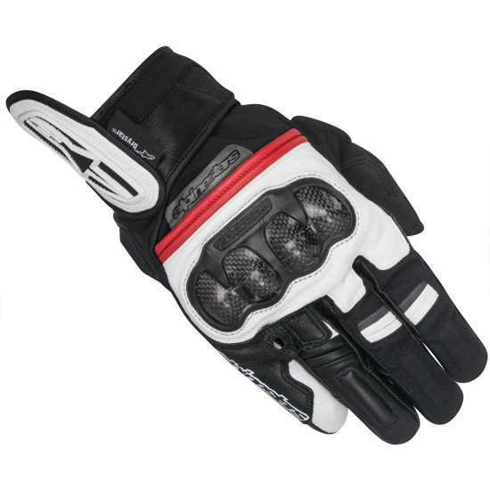 Handschuh ALPINESTARS Rage Drystar Black / White / Red