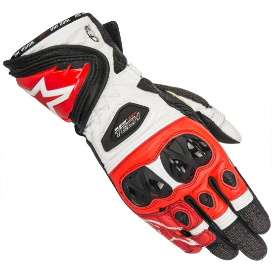 Guanto ALPINESTARS Supertech Black / White / Red