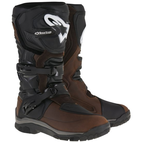 Stiefel ALPINESTARS Corozal Adventure Drystar Oiled Leather Brown / Black