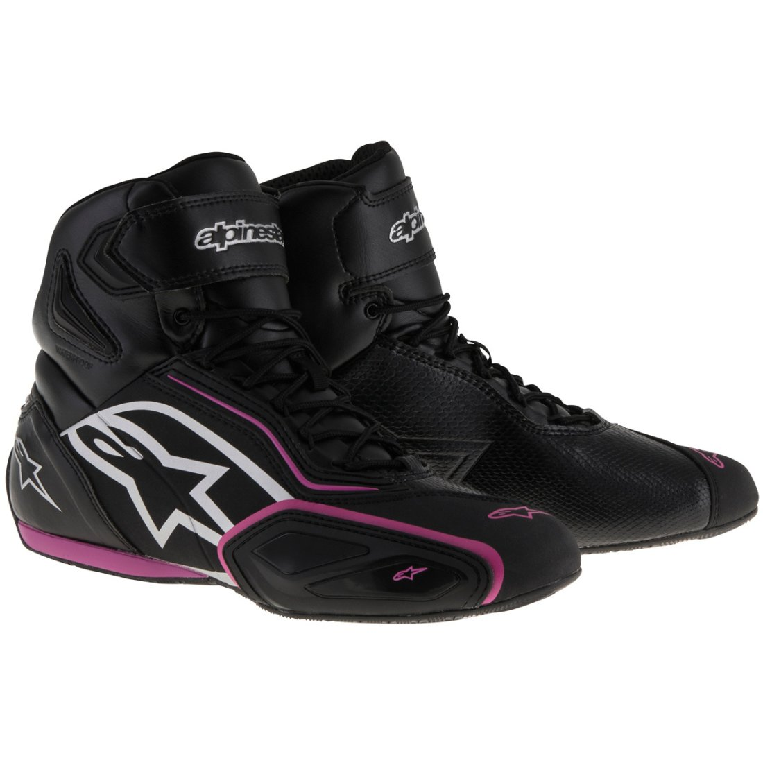 641071df3fd ALPINESTARS Stella Faster-2 Waterproof Lady Black   Fuchsia