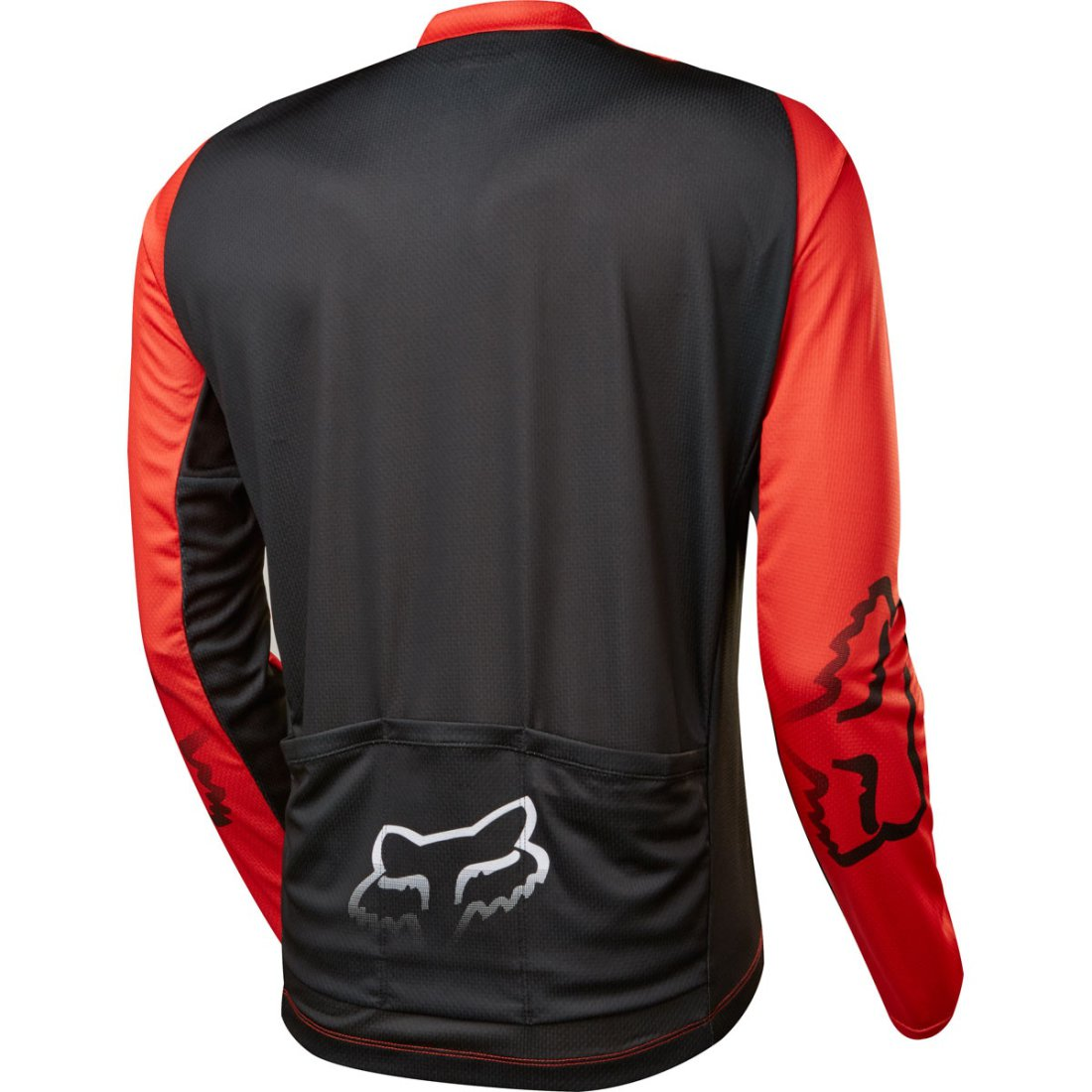 FOX Ascent LS Red Jersey · Motocard f67daefbd