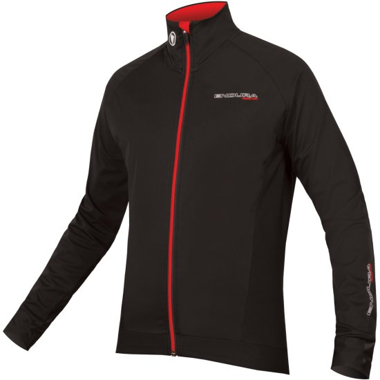 ENDURA FS260-Pro Jetstream L/S Black Jersey