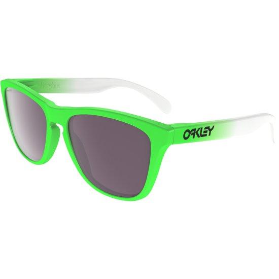 Óculos de sol OAKLEY Frogskins Green Fade Edition   Prizm Daily Polarized 3acc6a3f26