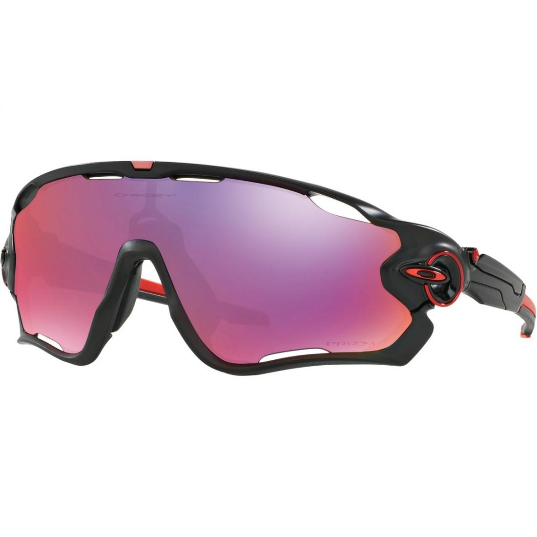 7de9086357 OAKLEY Jawbreaker Matte Black   Prizm Road Mask   Goggle · Motocard