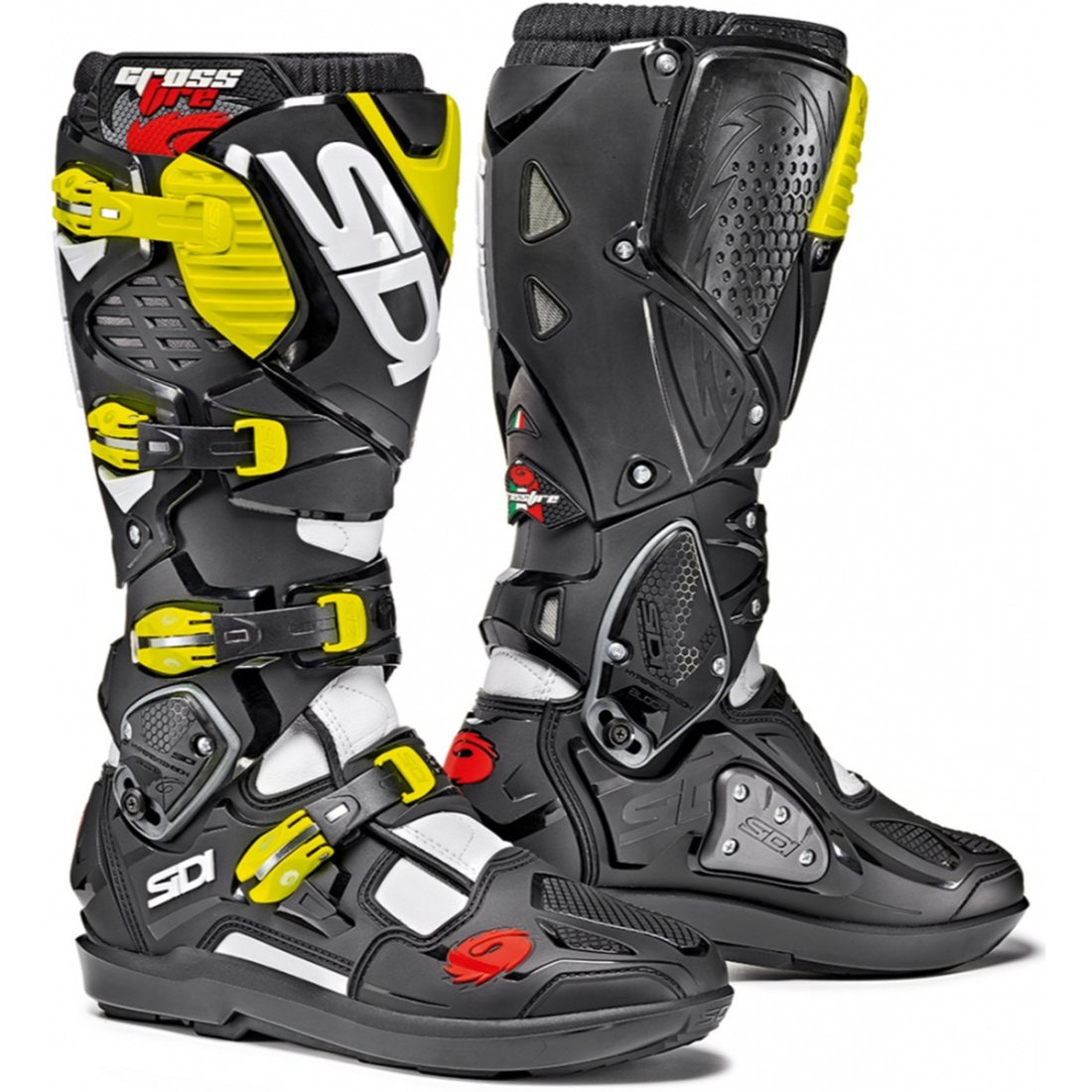 b21b7c93461 SIDI Crossfire 3 SRS White   Black   Yellow Fluo