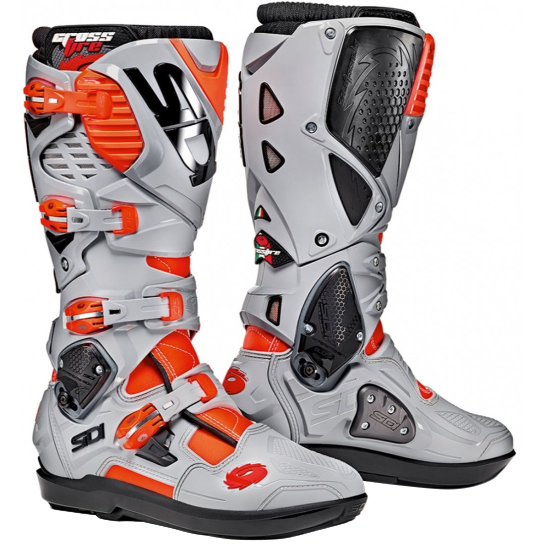 Botas SIDI Crossfire 3 SRS Red Fluo / Ash