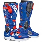 SIDI Crossfire 3 SRS White / Blue / Red Fluo